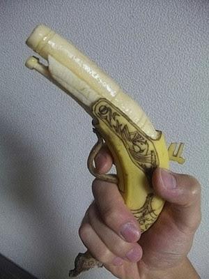 Banana flintlock