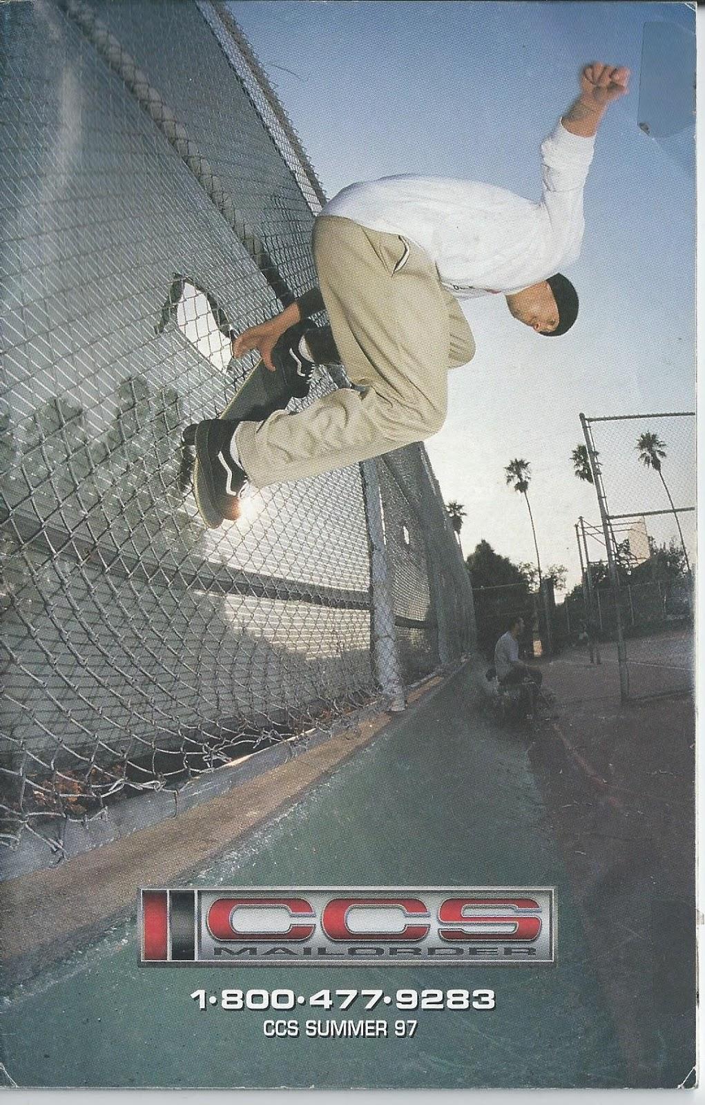 90's Skateboard Nostalgia: CCS Summer 1997 Catalog