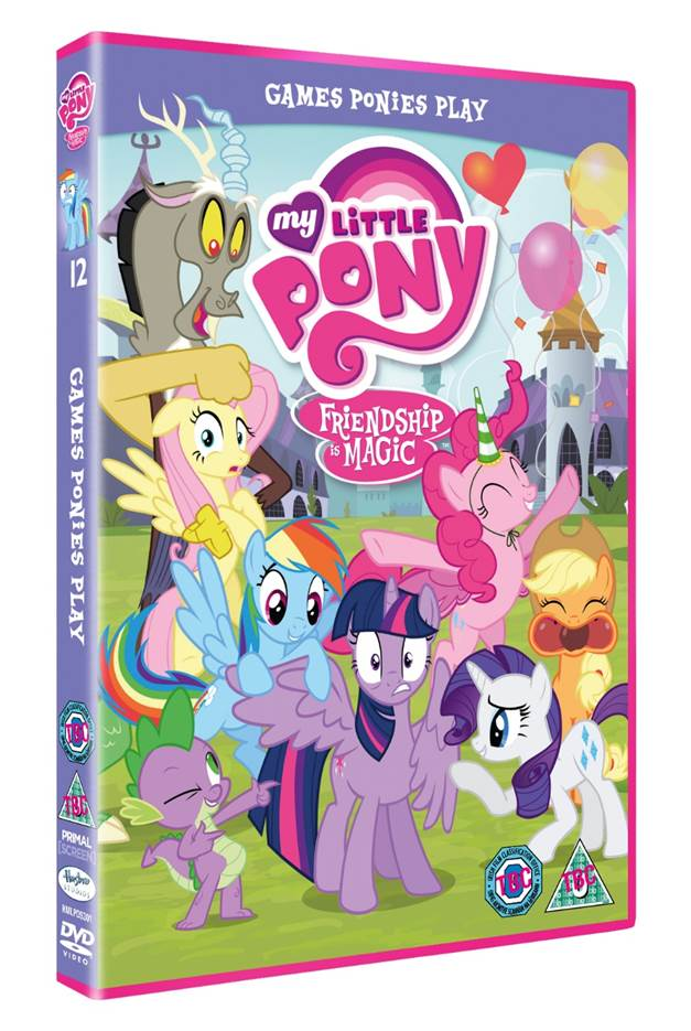 My Little Pony DVD, Easter Giveaway, border=