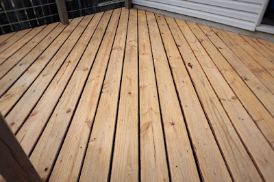 stain strip wood deck refinish ready