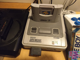 super nintendo con super game boy