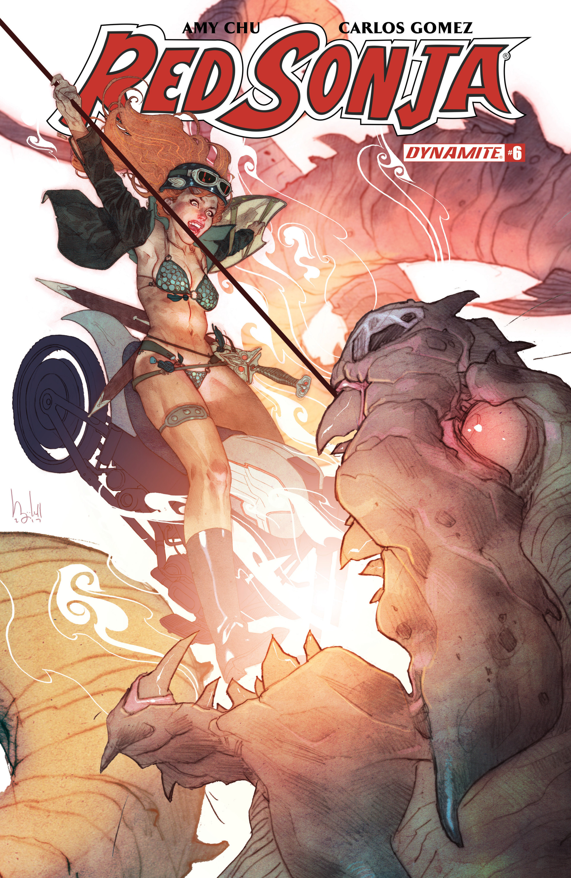 Read online Red Sonja Vol. 4 comic -  Issue #6 - 2