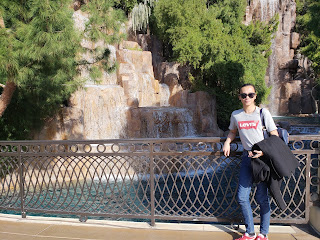 Jonathan outside the Wynn Hotel Las Vegas Nevada