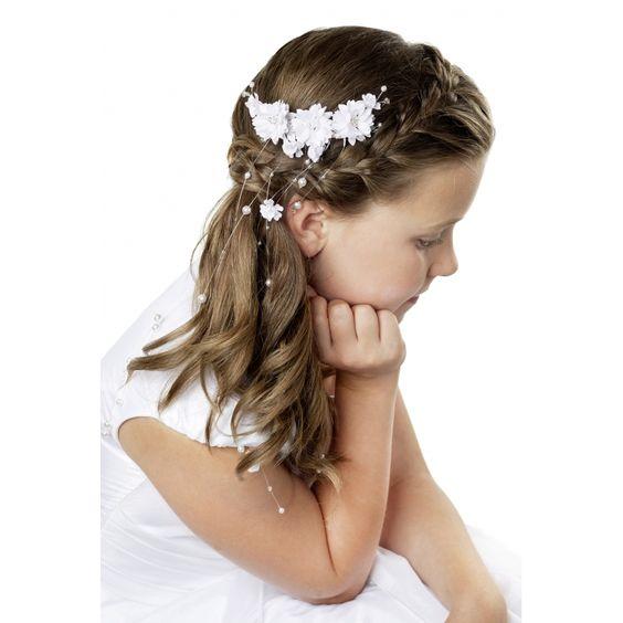 Fryzury Na Komunię Dla Dziewczynki Top 10 Terazolapl