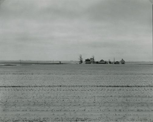 """""""Farm Landscapes"""" - n.d. - photo by Rhondal Mckinney   sad black and white photos   imagenes bellas de soledad y tristeza, fotos en blanco y negro bonitas"""