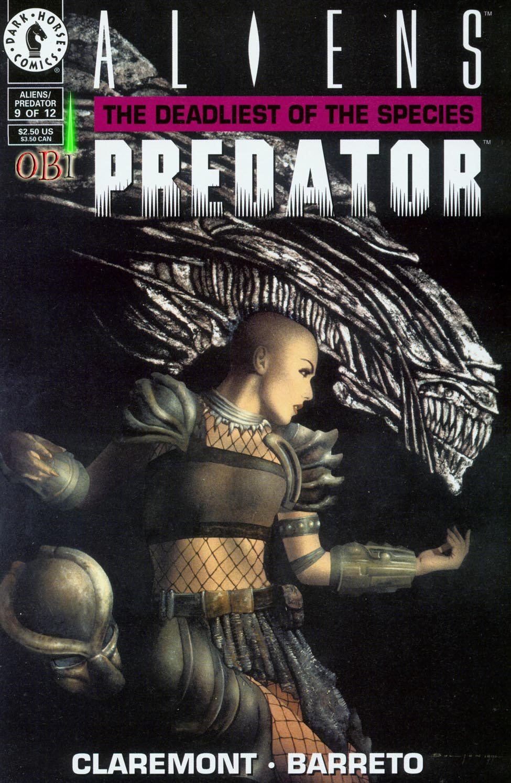 Aliens/Predator: The Deadliest of the Species 9 Page 1