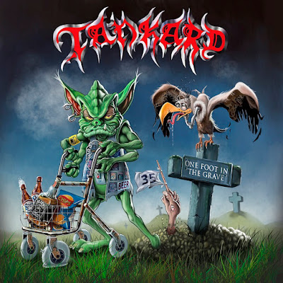 Tankard - One Foot in the Grave (2017) Album Artwork