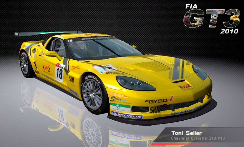 Mod GT3 2010 by SandroX-GPfan - Rfactor | otomotive