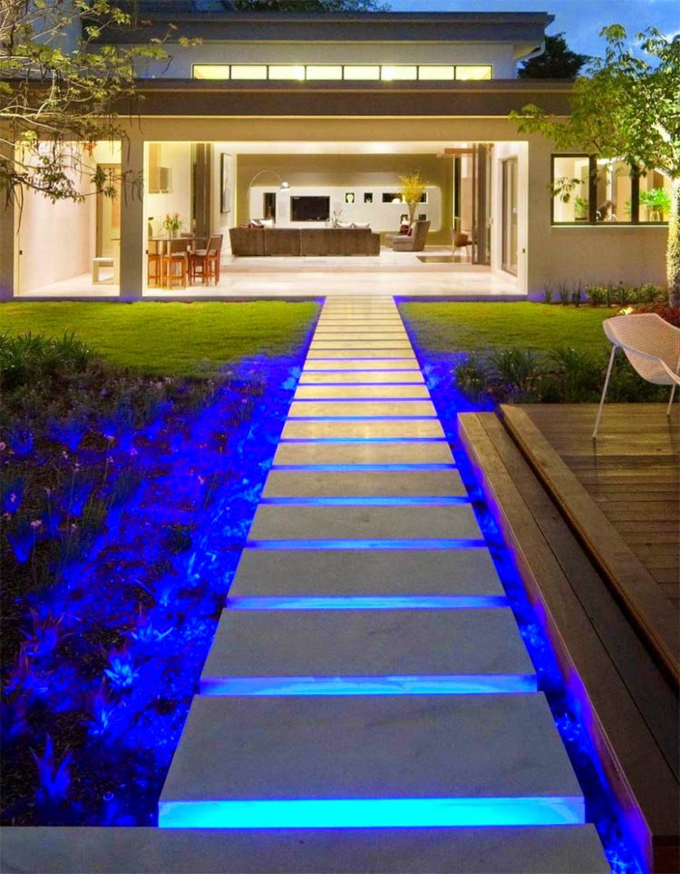 Creative Ideas For Outdoor Garden Lighting With Decorative LED Lights