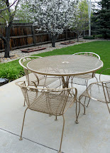 Hang Refurbishing Wrought Iron Furniture