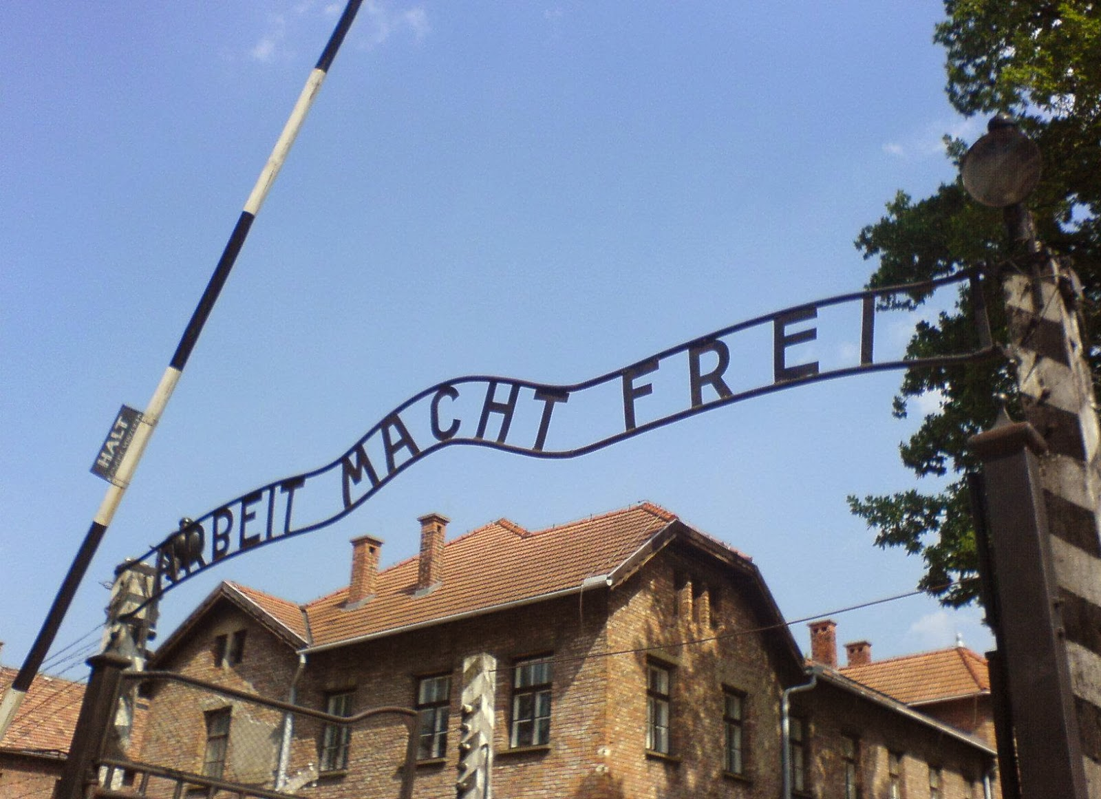 abwehr 1109 ier executioner pro lifer auschwitz the entry gate to auschwitz concentration camp taken in 2006 the infamous arbeit macht frei message is visible