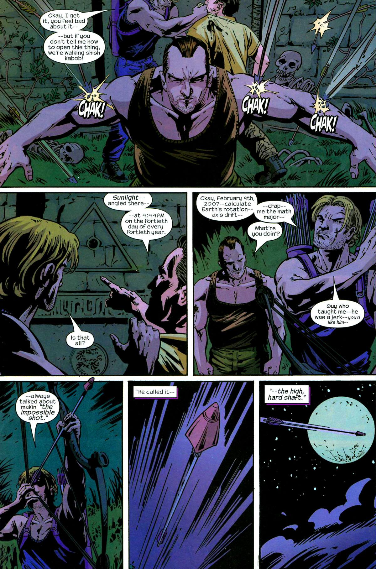 Hawkeye (2003) Issue #5 #5 - English 21