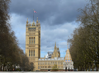 A family day trip to London with Virgin Trains East Coast - Victoria Tower Gardens