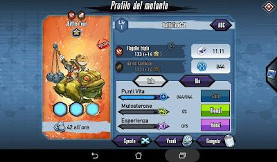 Mutants: Genetic Gladiators Breeding video N°176 (BattleToad - Monkey King)