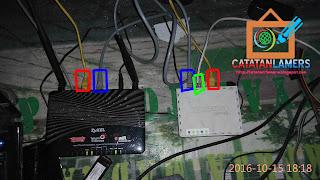 Setting Useetv Indihome Agar bisa digunakan Bersamaan Hotspot Mikrotik Via Wireless