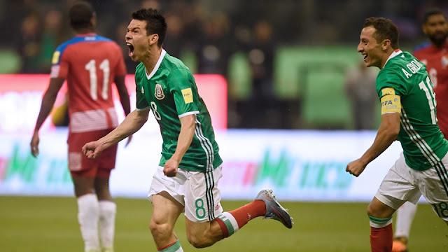 Hirving Lozano marcó el gol con el que México clasifica a Rusia 2018