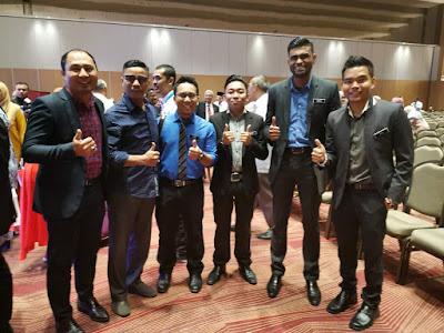 Bersama 3 orang Guru Inspirasi McDonald's 2019 semasa Sambutan Hari Guru Kebangsaan di Pulau Pinang