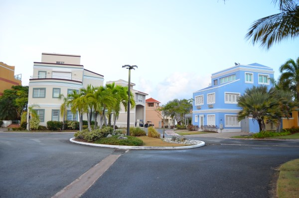 Circular Roundabout in the Center of Peninsula de San Juan Rentals at Peninsula de San Juan, Palmas del Mar, Humacao, Puerto Rico