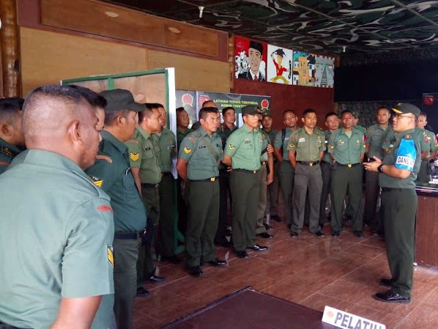Dedi Safrudin Laksanakan Asistensi Laknis Teritorial di Kodim Tobelo