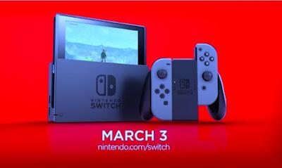 Photo of Nintendo switch