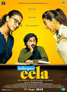 Helicopter Eela (2018) Official Poster