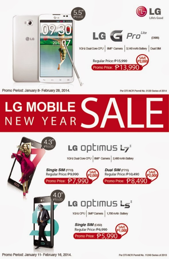 LG New Year SALE!