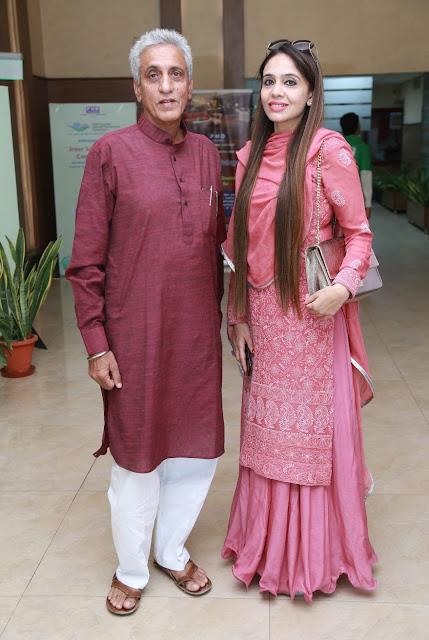 Artist Sailesh Sanghvi and Designer Deepa Sondhi