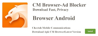 Download CM Browser Apk Android Latest Version