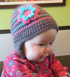 L'accroche laine - Tuque pour bébé au crochet