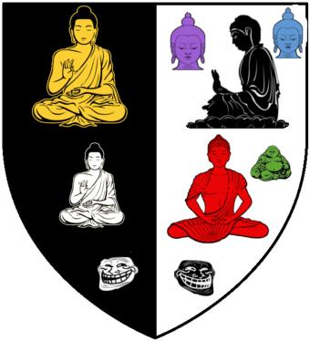 Sept Bouddhas Bouddha