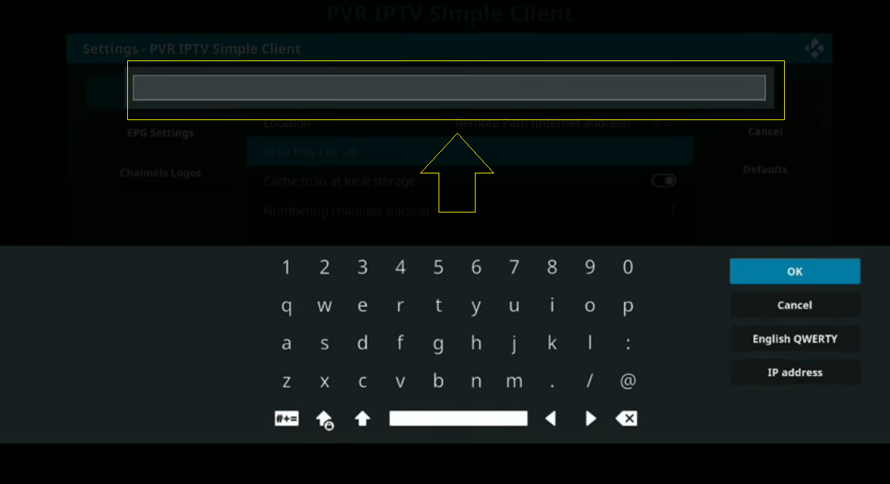 how to setup PVR IPTV Simple Client | Free m3u url to watch