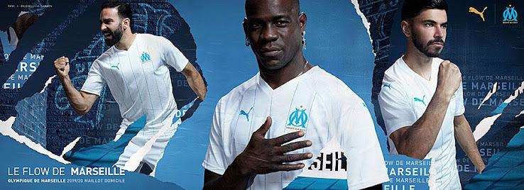 Marseille 19 20 Home Kit Released Footy Headlines