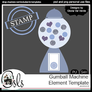 Gumball Machine Template