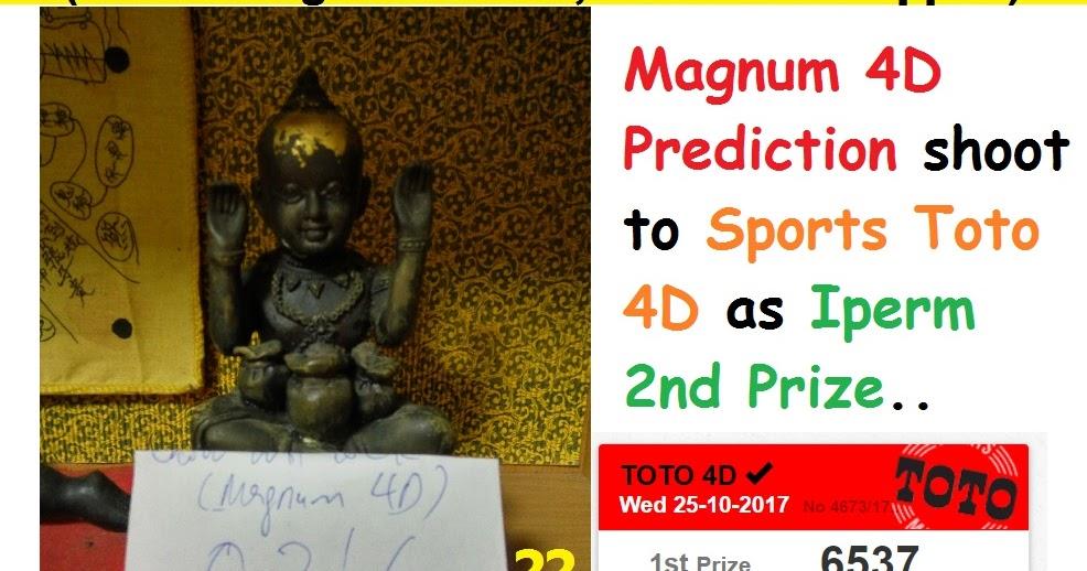 KUMANTONG 4D POWER: Magnum 4D Prediction shoot to Sports