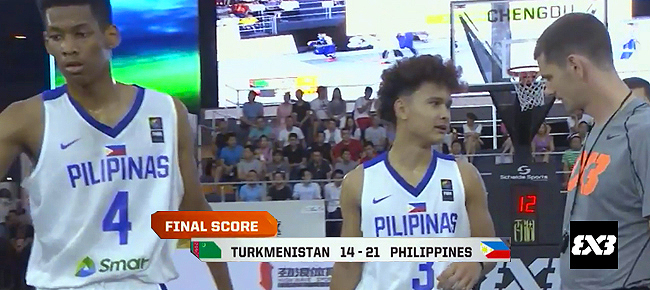 Philippines def. Turkmenistan, 21-14 (REPLAY VIDEO) FIBA 3x3 U18 World Cup 2017