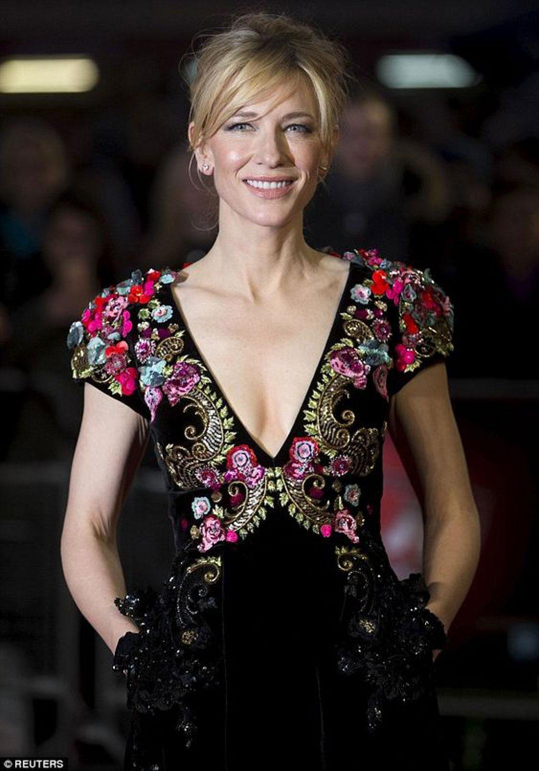 Cate Blanchett, analiza kolorystyczna, Jasne Lato, kolor czarny