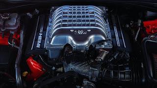 2018 Dodge Challenger SRT Demon Hemi Supercharged Engine