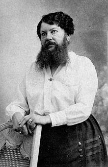 femme à barbe
