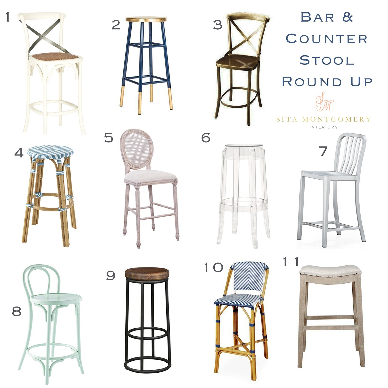 Outstanding Bar And Counter Stool Round Up Sita Montgomery Interiors Bralicious Painted Fabric Chair Ideas Braliciousco