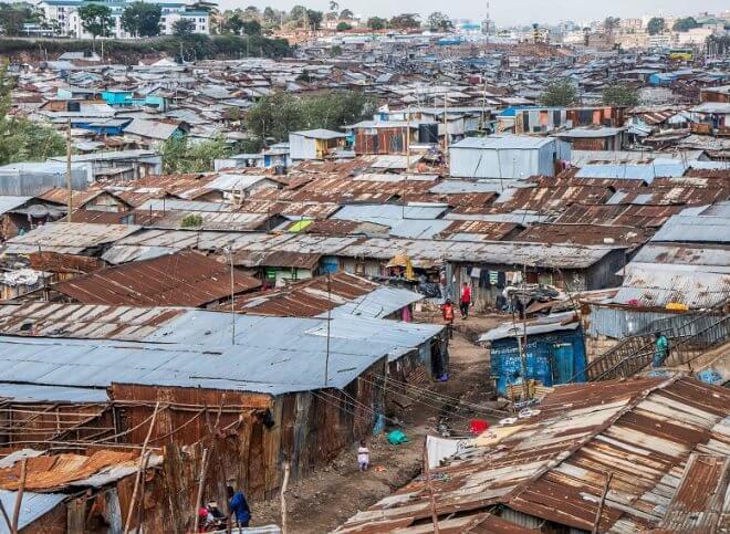 Mathare slums, Nairobi - Kenya