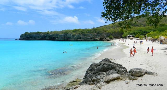 Curaçao - praia de Kanepa Grandi (Grote Knip)