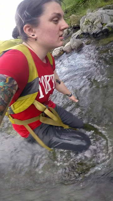 ghyll scrambling, canyoning, gorge walking, river, lake, glenridding, beck, waterfall, scrambling, climbing, mountains, Lake District, wild swimming, canyoneering, bouldering, clear water, helvellyn, striding edge