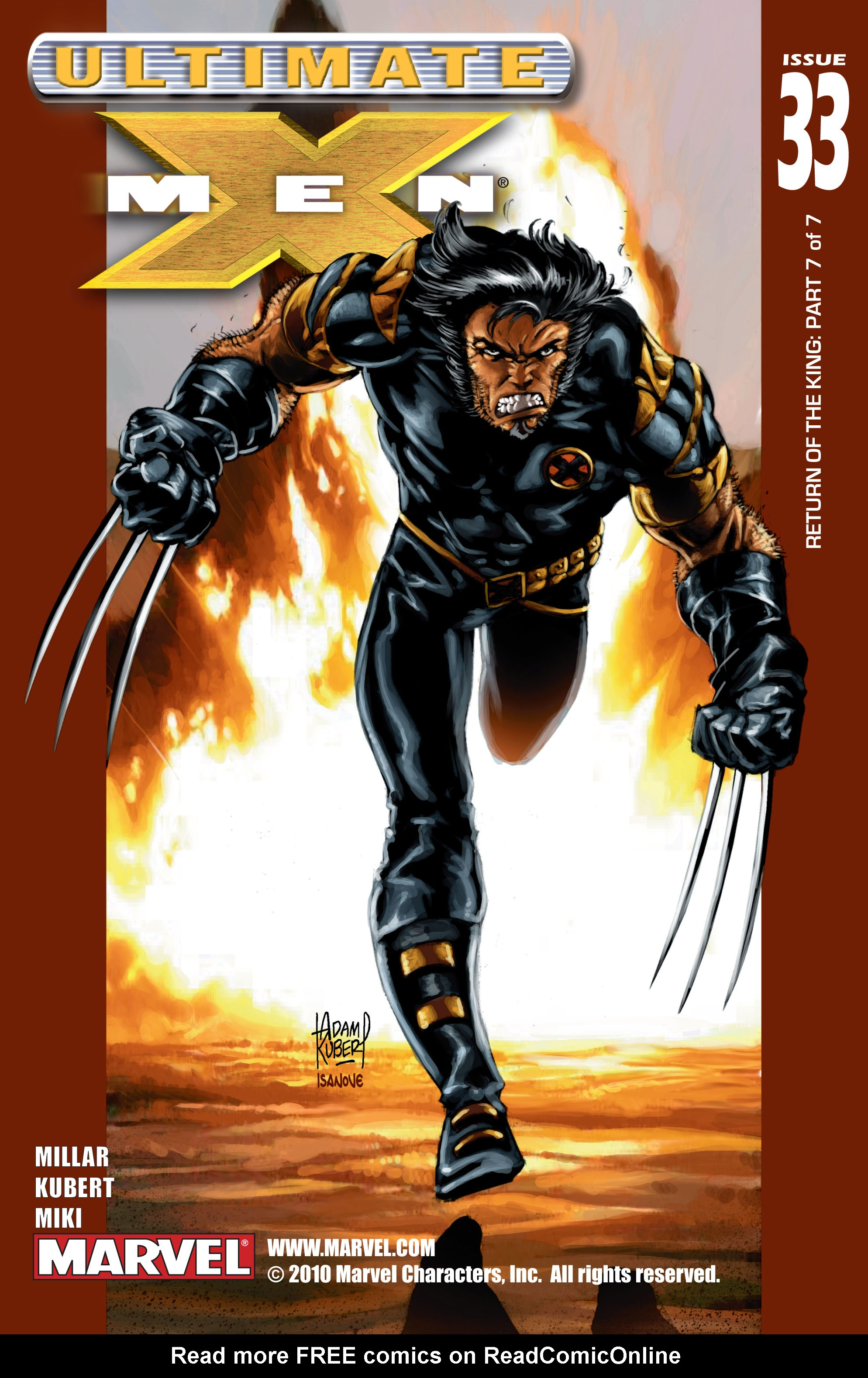 Read online Ultimate X-Men comic -  Issue #33 - 1