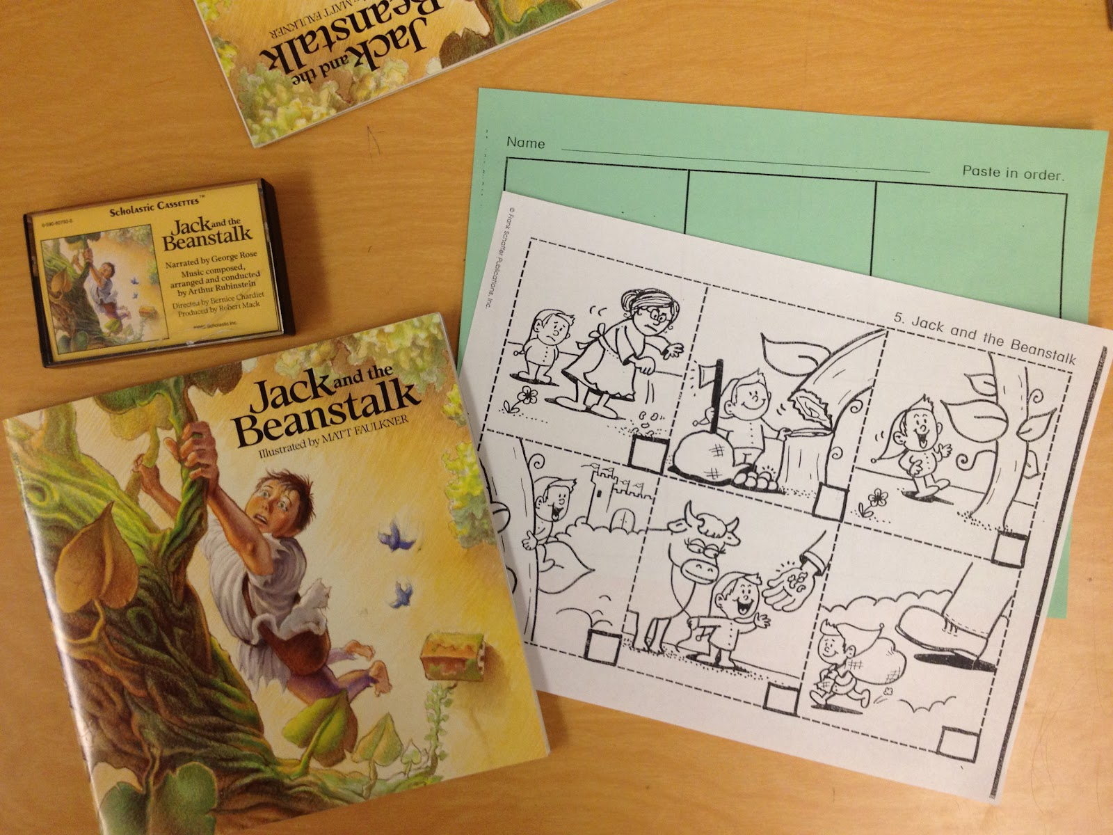 Jack And The Beanstalk Sequencing