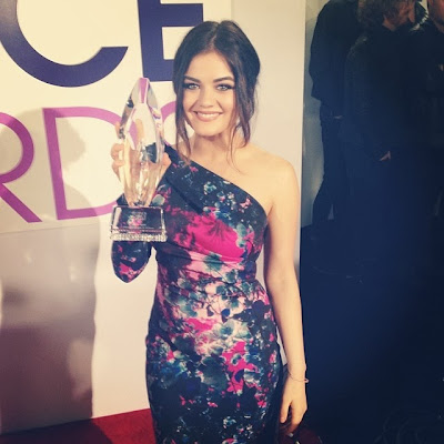 People's Choice Awards 2014 Lucy Hale