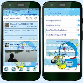 Download BBM Mod Theme Doraemon v3.2.2.8 Apk Terbaru