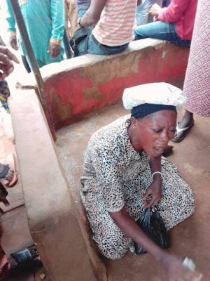 Another Female Kidnapper Apprehended In Elepe, Ikorodu, Lagos. Receives N500k Per Victim (Photos)