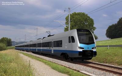 Stadler FLIRT, wizualizacja dla PKP Intercity