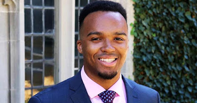 Nicholas Johnson, first Black Valedictorian at Princeton University