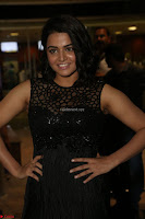 Wamiqa Gabbi in a sleeveless Black Designer Transparent Gown at 64th Jio Filmfare Awards South ~  Exclusive 102.JPG